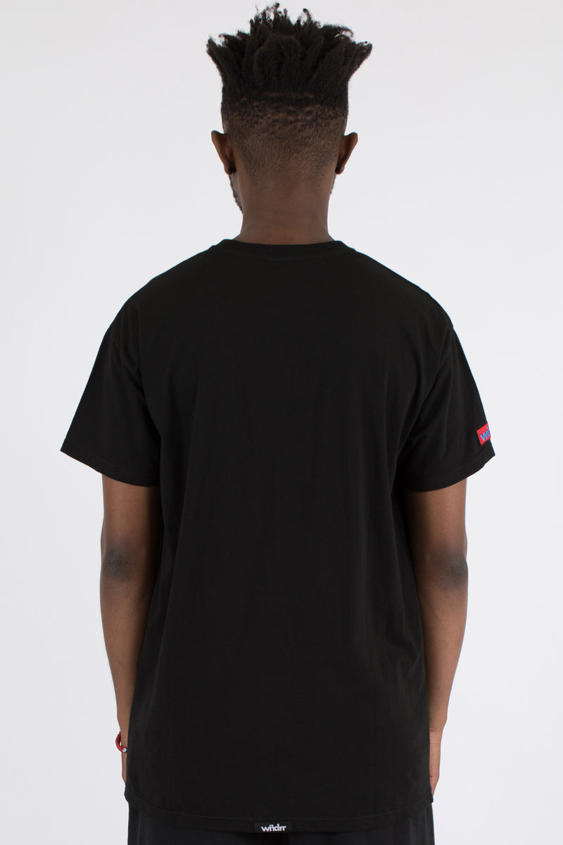 TRAUMA POCKET TEE - BLACK
