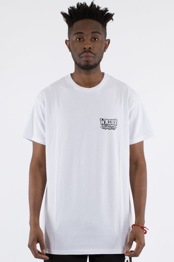 STRIKE CUSTOM FIT TEE - WHITE