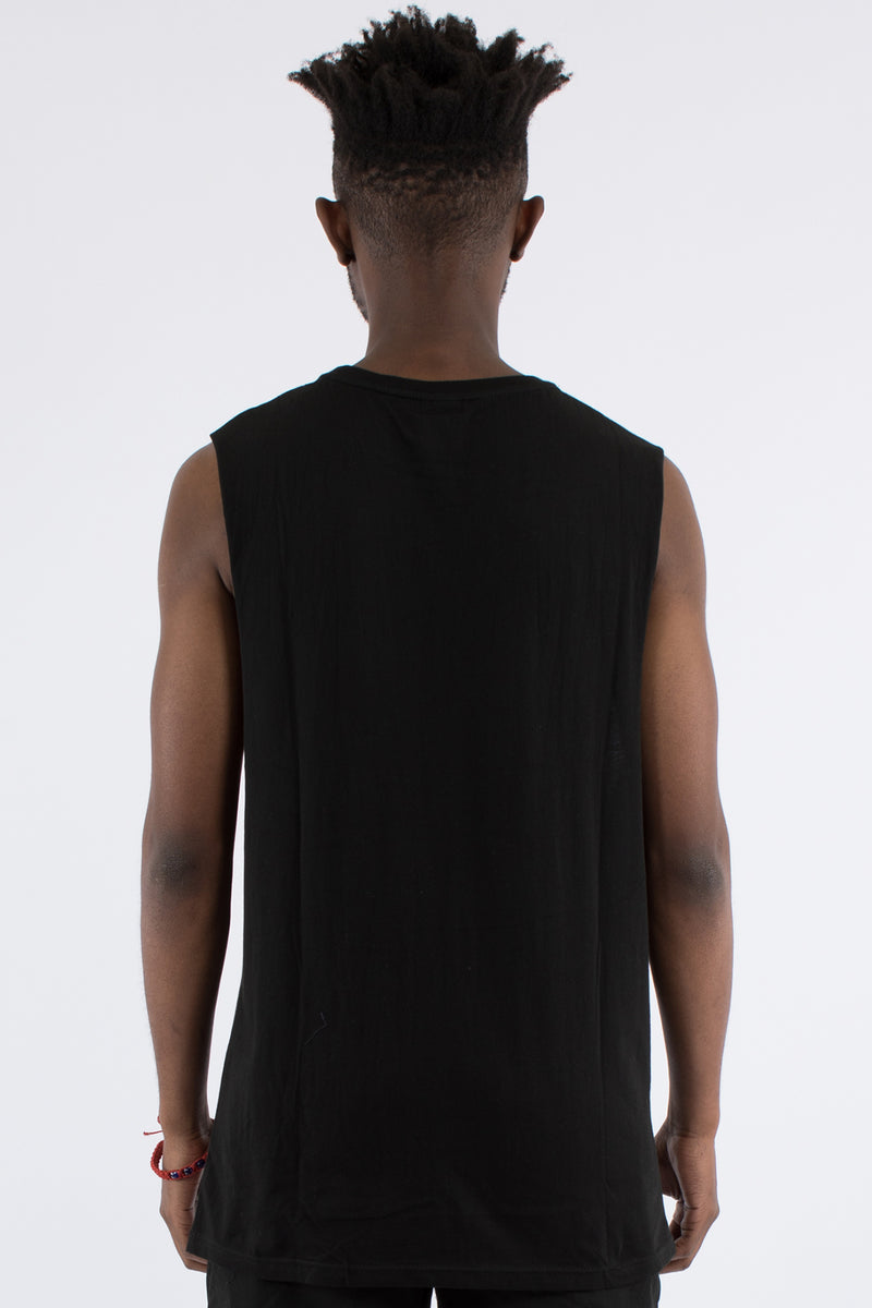 MINISTRY MUSCLE TOP - BLACK
