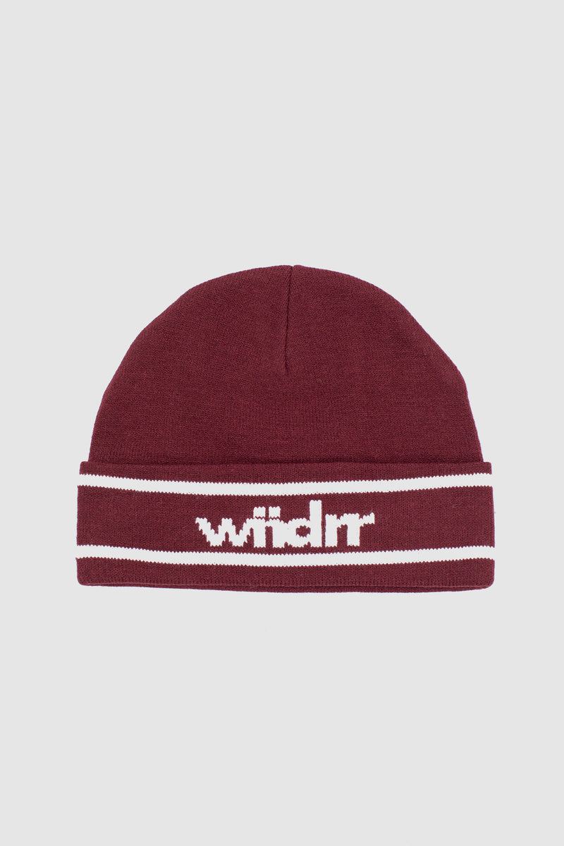 DISTRICT BEANIE - BURGUNDY