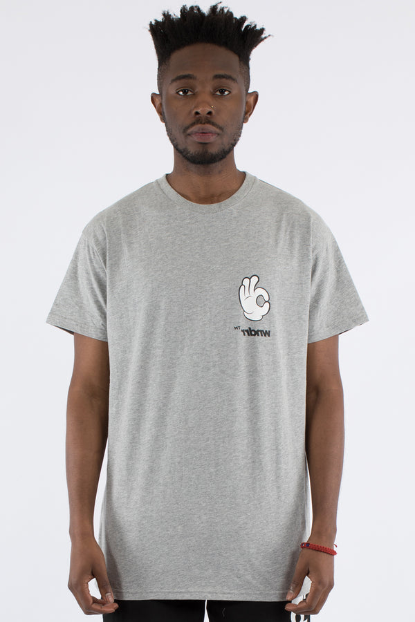 OH KAY CUSTOM FIT TEE - GREY MARLE