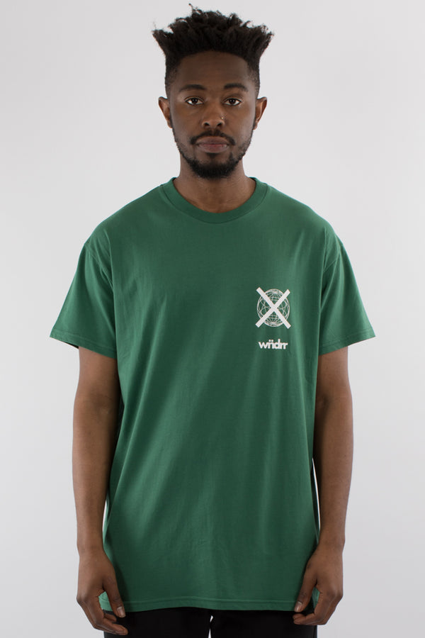 INSURGENT CUSTOM FIT TEE - FOREST GREEN