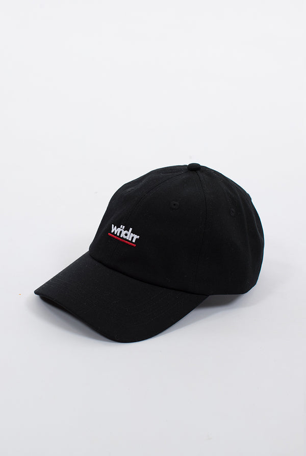 MIRAGE 6 PANEL CAP - BLACK