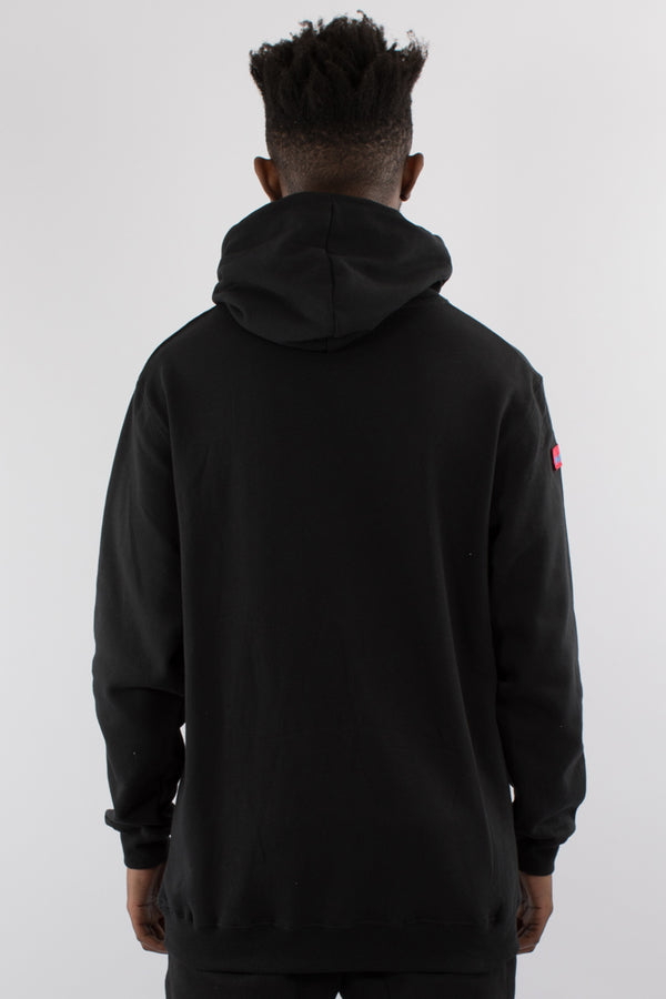 TRAUMA HOOD SWEAT - BLACK
