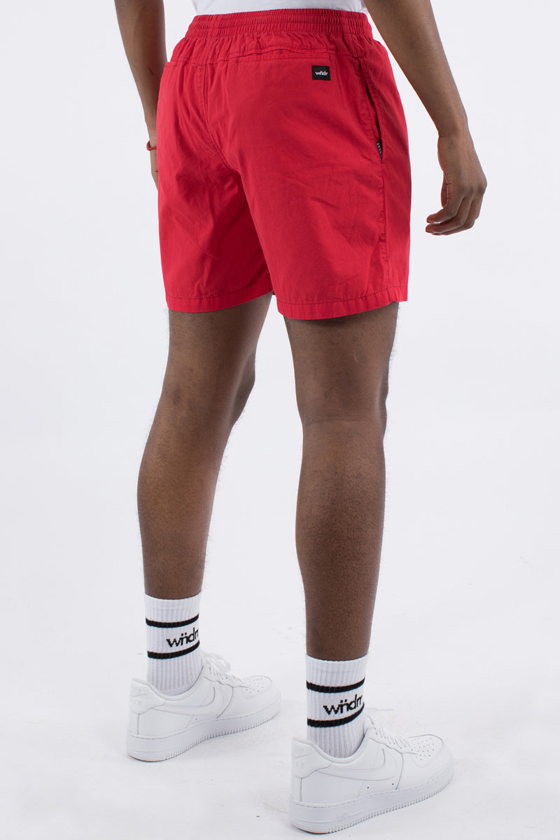LEAD BEACH SHORT - RED