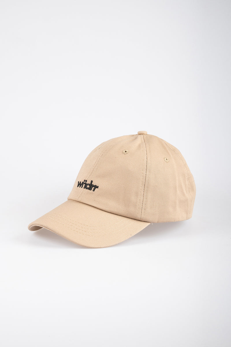 ACCENT 6 PANEL DAD CAP - TAN