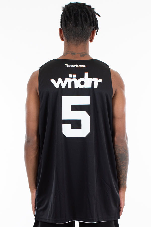 THROWBACK COLLAB JERSEY - BLACK
