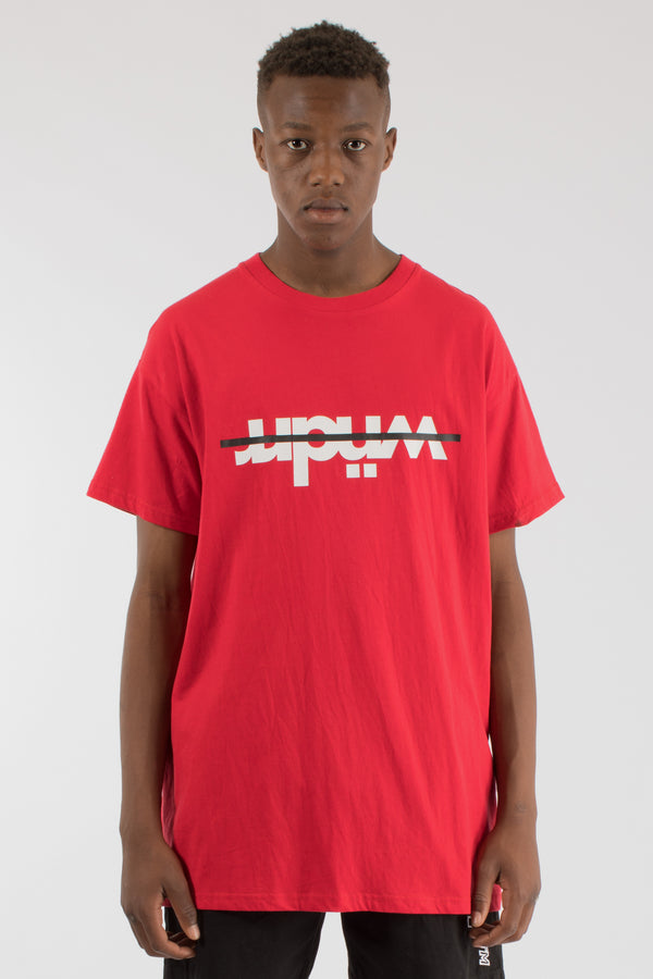 OVERPASS CUSTOM FIT TEE - RED