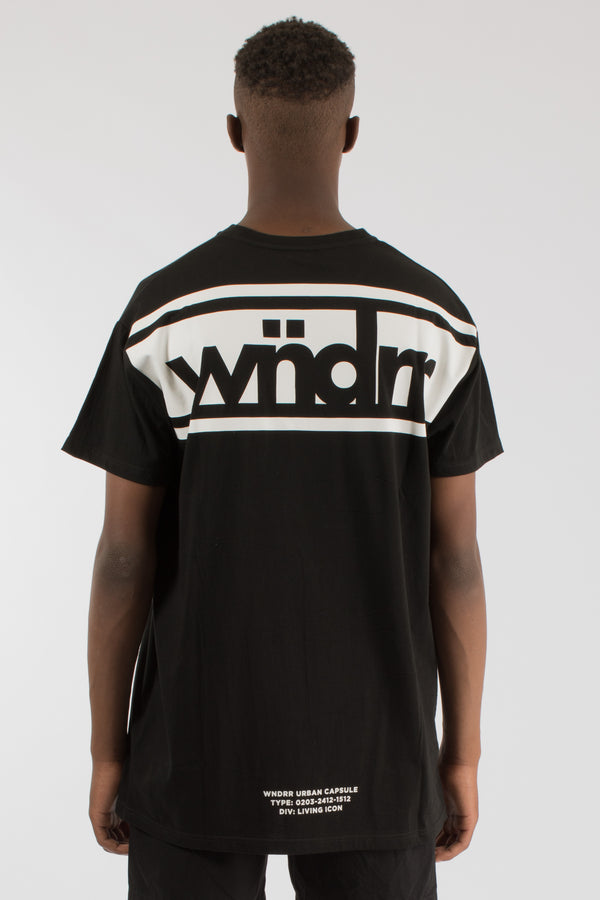 DIVIDE CUSTOM FIT TEE - BLACK