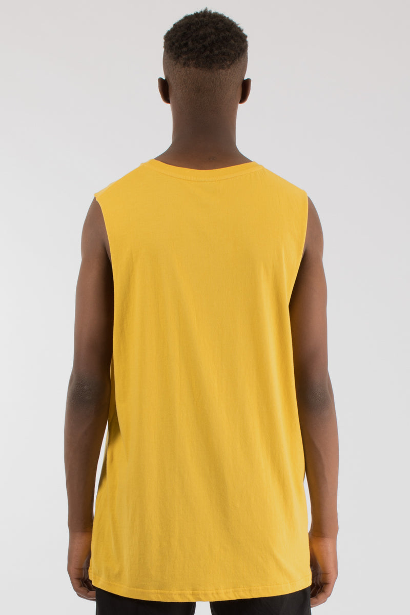 BREAKOUT MUSCLE TOP - YELLOW