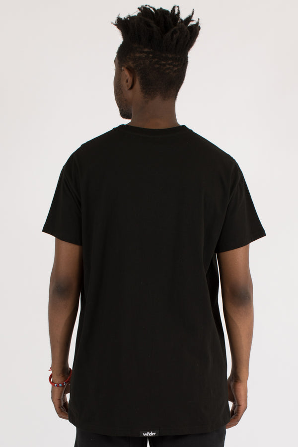 EQUIP CUSTOM FIT TEE - BLACK