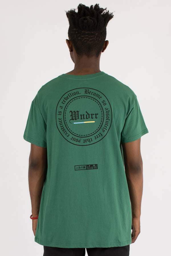 ABSOLUTE CUSTOM FIT TEE - FOREST GREEN