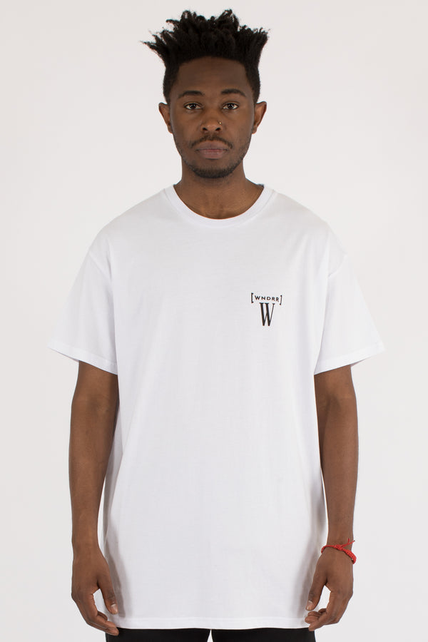 BYPASS CUSTOM FIT TEE - WHITE