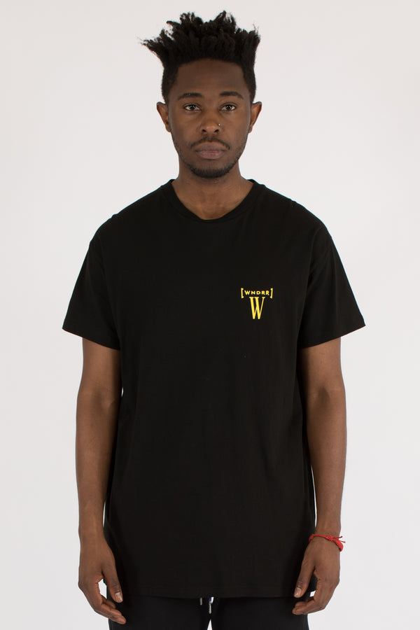 BYPASS CUSTOM FIT TEE - BLACK
