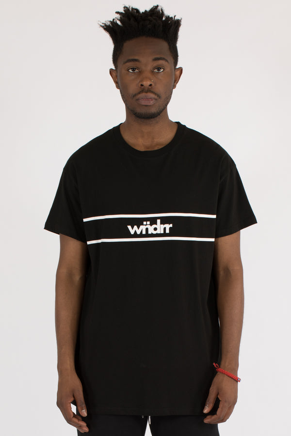 DISTRICT CUSTOM FIT TEE - BLACK