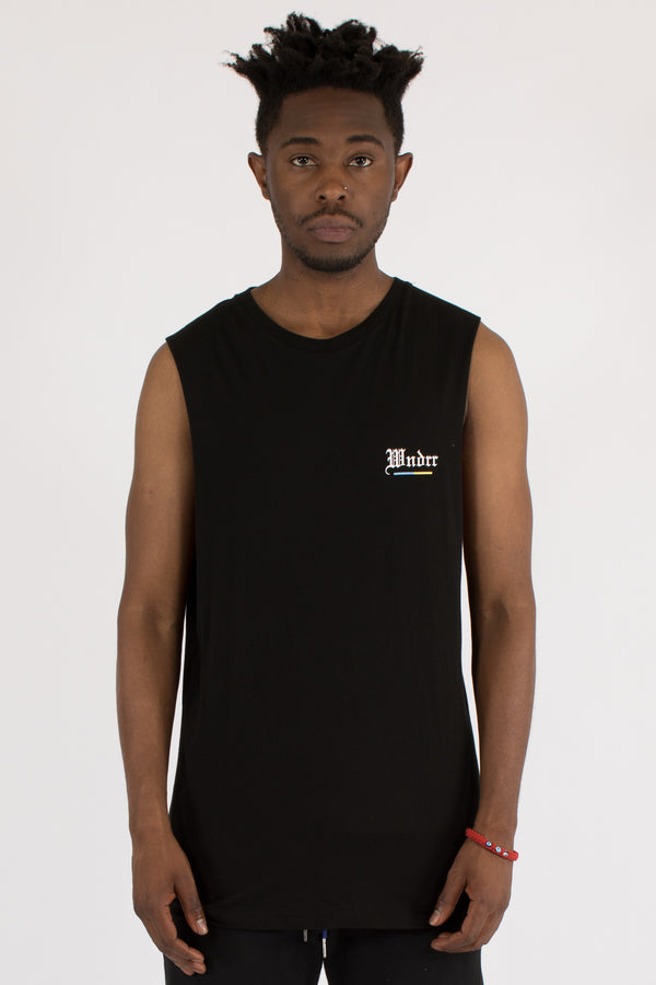 ABSOLUTE MUSCLE TOP - BLACK
