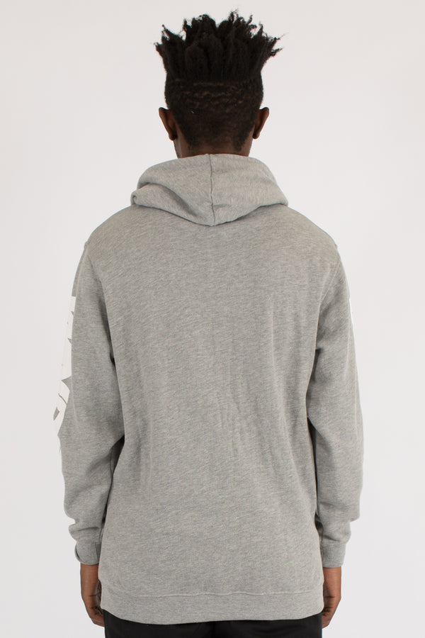 FORCE HOOD SWEAT - GREY MARLE