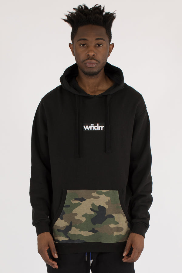 BREACH HOOD SWEAT - BLACK