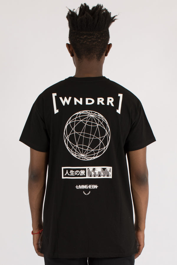 WHY CUSTOM FIT TEE - BLACK
