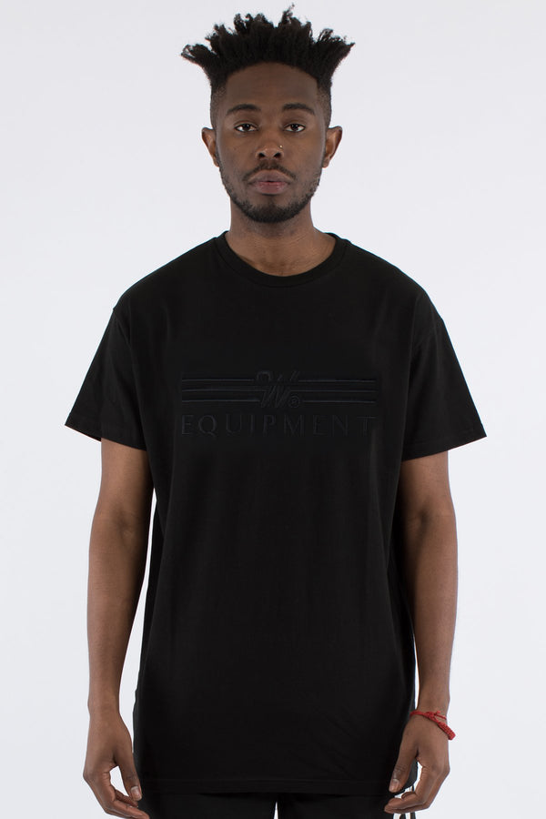BILLET CUSTOM FIT TEE - BLACK/BLACK