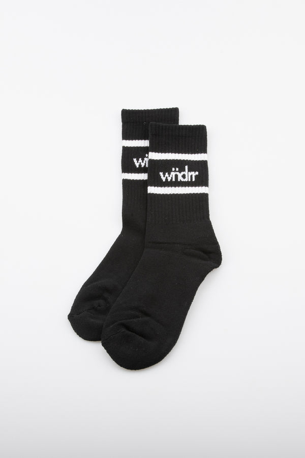 ACCENT SOCKS 3 PK - BLACK