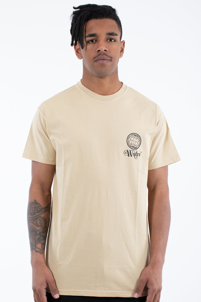 TANGLED CUSTOM FIT TEE - TAN