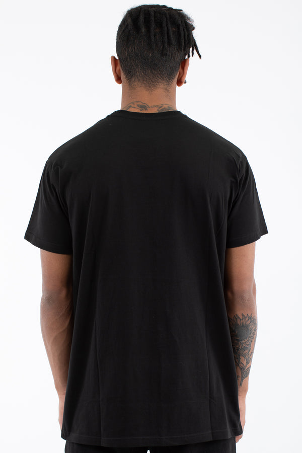 TRAILS CUSTOM FIT TEE - BLACK
