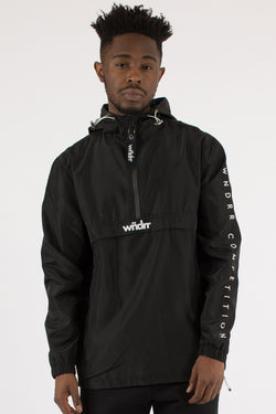 RESISTANCE SCOOP-TAIL SPRAY JACKET - BLACK