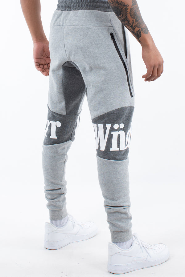 HAMILTON TECH TRACKPANT - GREY MARLE