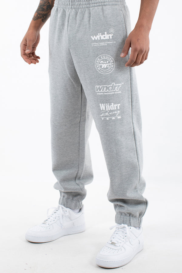 TRACTION TRACKPANT - GREY MARLE