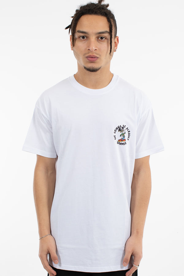 MICK CUSTOM FIT TEE - WHITE