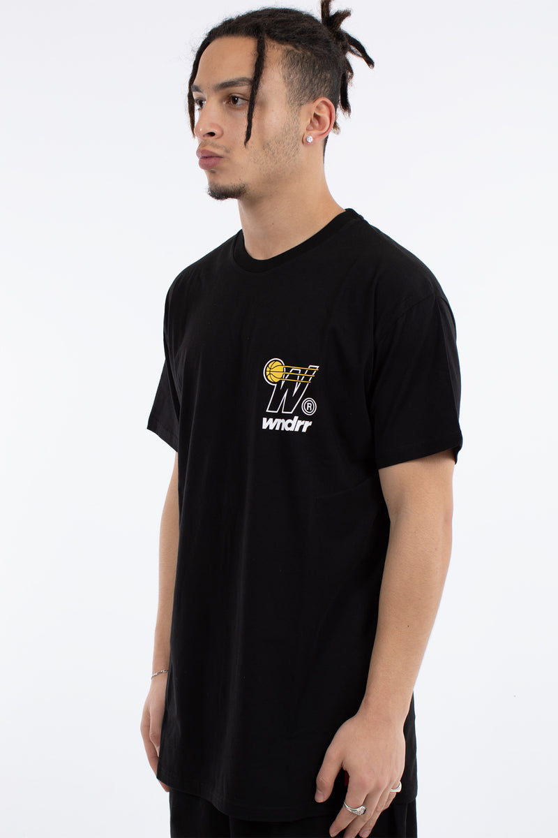 IN BOUND CUSTOM FIT TEE - BLACK