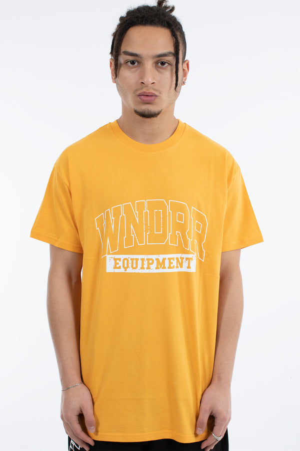 BLEACHER CUSTOM FIT TEE - YELLOW