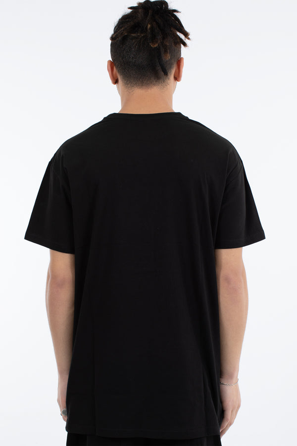 BLEND CUSTOM FIT TEE - BLACK