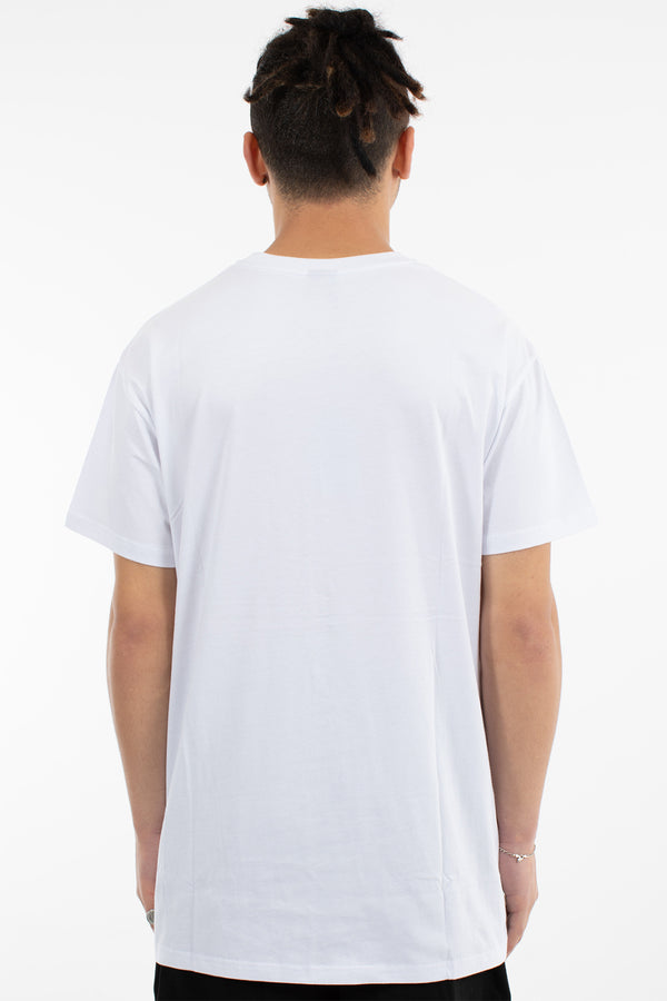 BLEND CUSTOM FIT TEE - WHITE