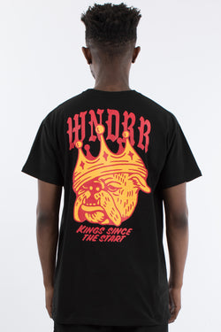 BULLDOG CUSTOM FIT TEE - BLACK