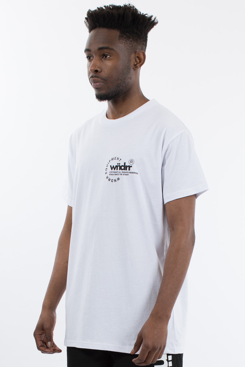 STAGE CUSTOM FIT TEE - WHITE