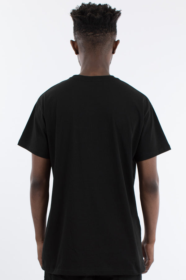 JERRY CUSTOM FIT TEE - BLACK