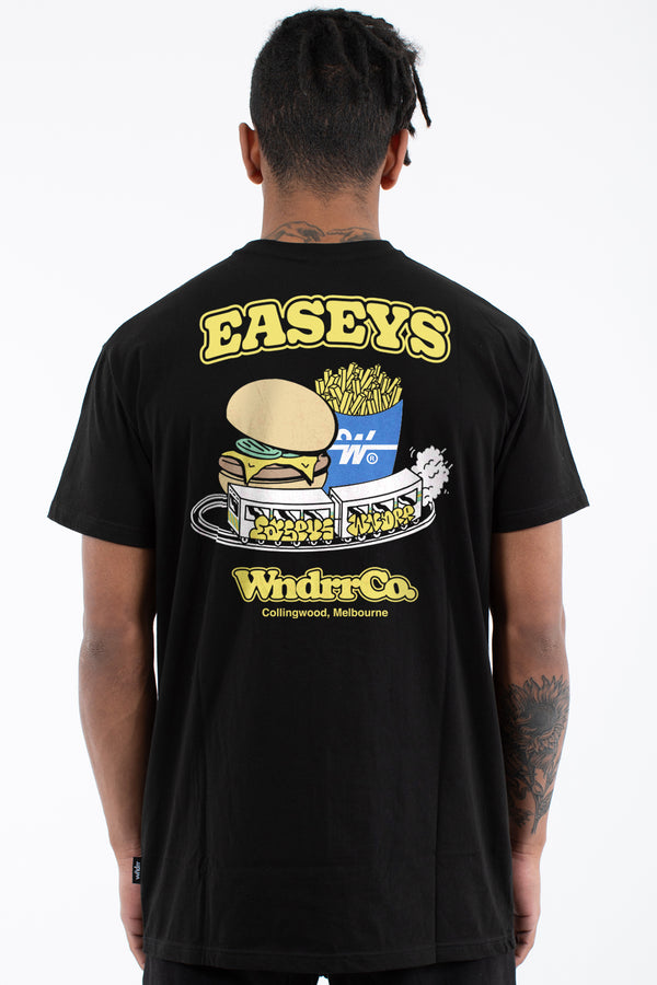 EASEYS COLLAB TEE - BLACK