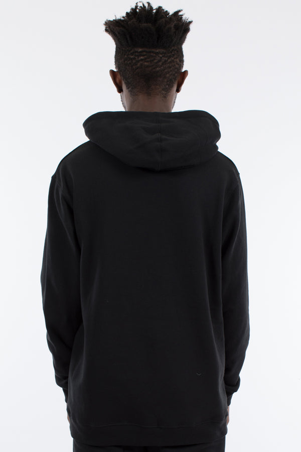 SWEEP HOOD SWEAT - BLACK