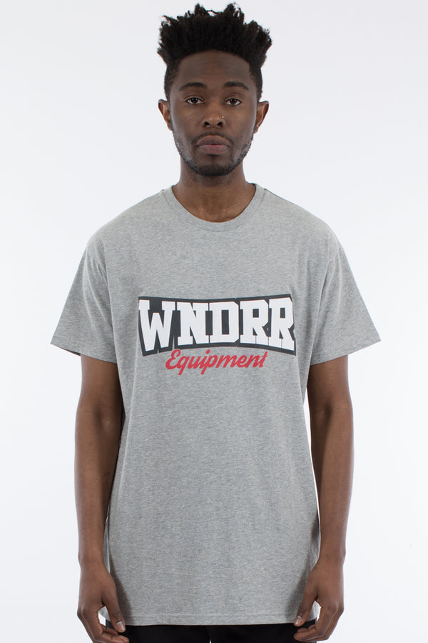 STRIDE CUSTOM FIT TEE - GREY MARLE
