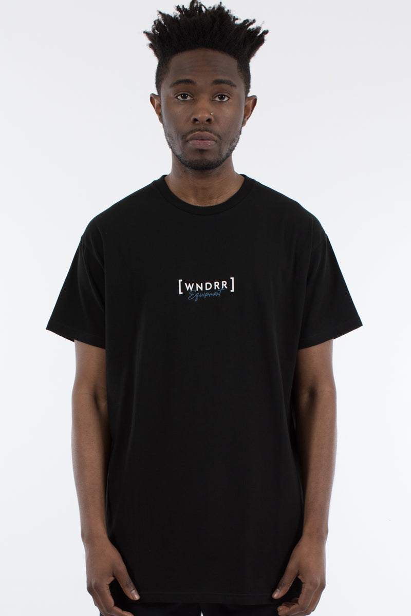 MARKER CUSTOM FIT TEE - BLACK