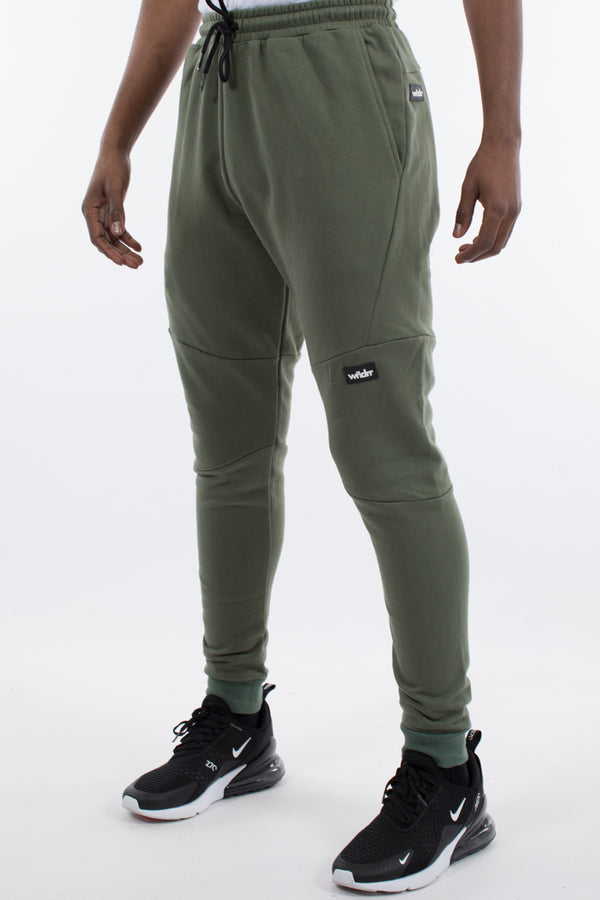 HOXTON TECH TRACKPANT - OLIVE GREEN