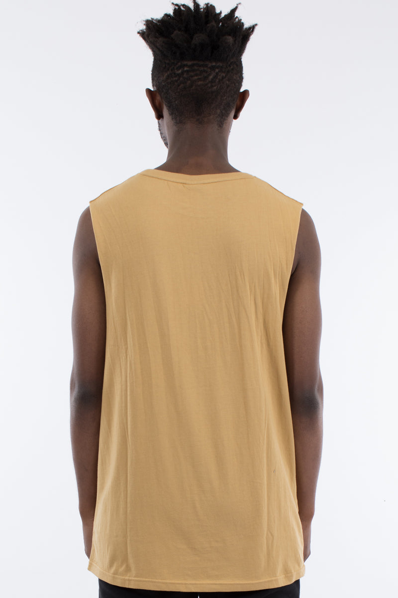 REVIVE MUSCLE TOP - TAN