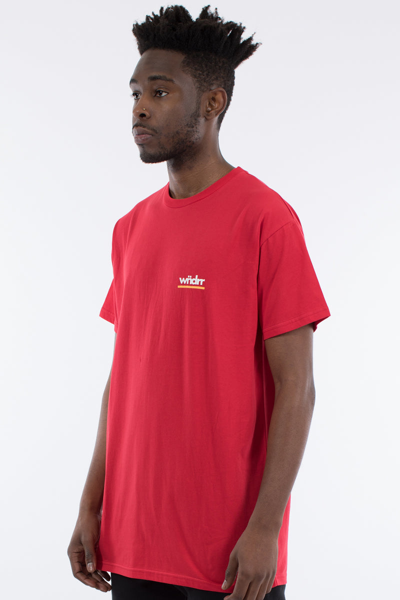 DECEPTION CUSTOM FIT TEE - RED