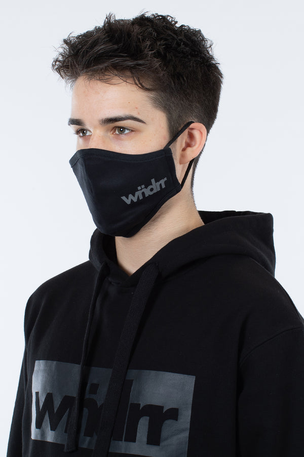 TENTACION FACE MASK - BLACK