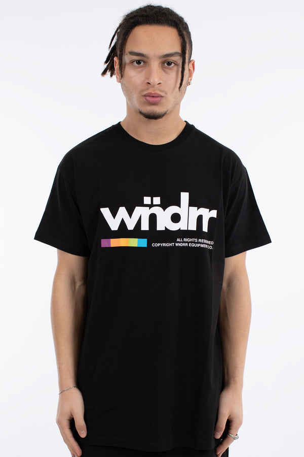 VHS CUSTOM FIT TEE - BLACK