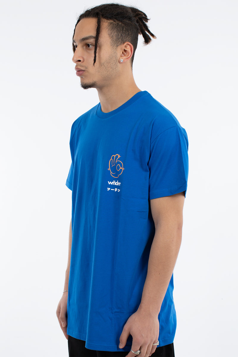 TALENT CUSTOM FIT TEE - ROYAL BLUE