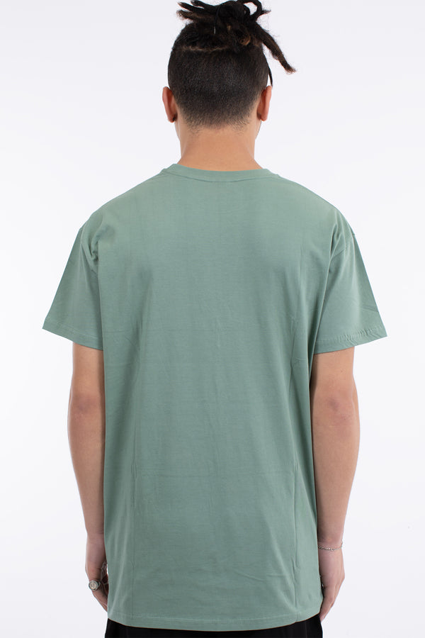 RANKED 3 PANEL CUSTOM FIT TEE - OLIVE