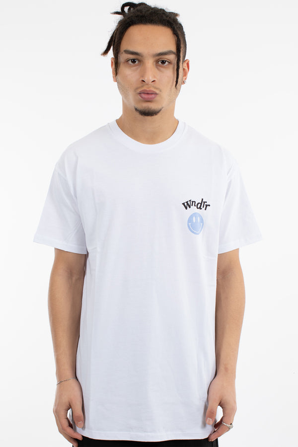 SMILE CUSTOM FIT TEE - WHITE